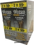 Sweet Woods Leaf Platinum Un Sweet 30-2's 60 Cigars